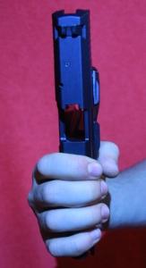 Podávanie pištole