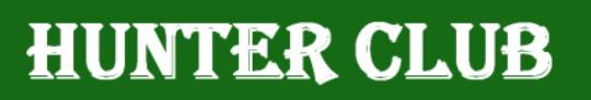 Registrácia na akciu Hunter Club