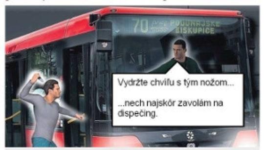 Stanovisko Legis Telum k incidentu v autobuse