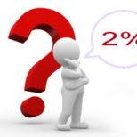 2% našim partnerom