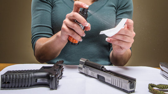 Údržba zbrane – 1.časť: Čistenie