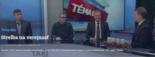 Streľba na verejnosti – debata